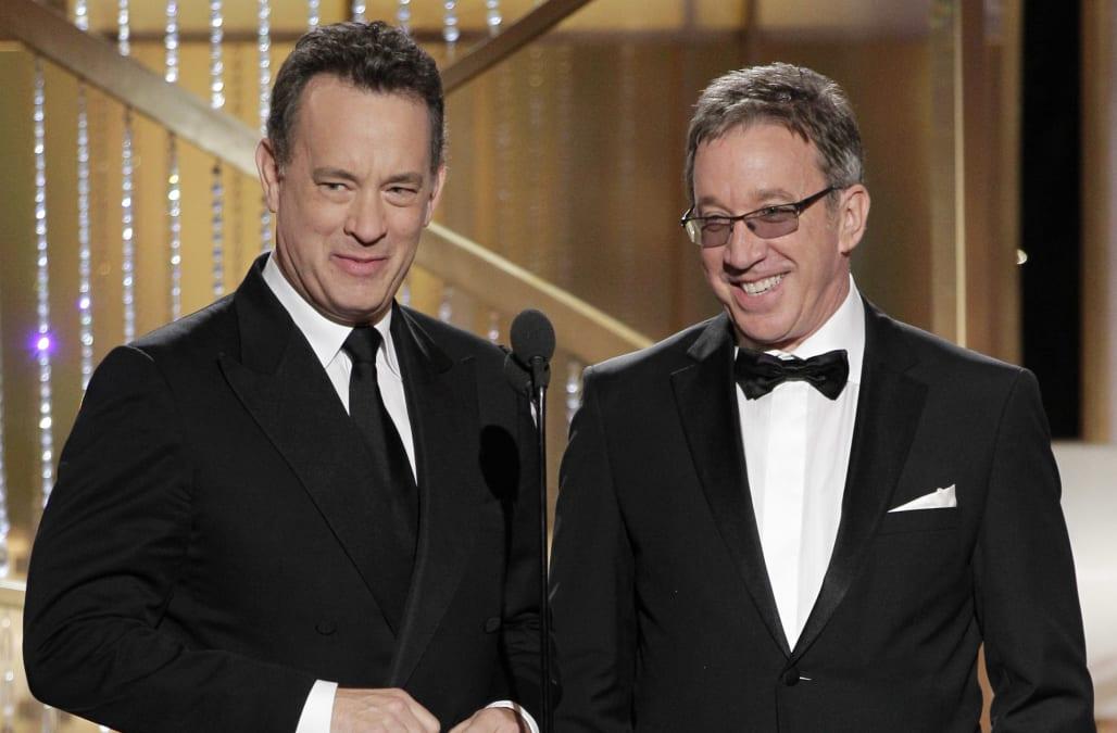 Tom Hanks, Tim Allen get emotional on last day of recording