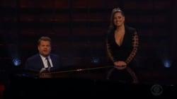 Ashley Graham et James Corden chantent pour dire stop aux régimes d'après