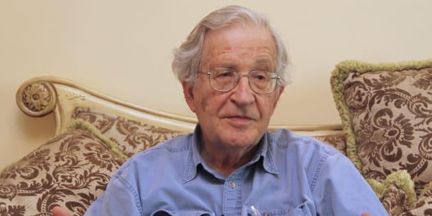 Noam Chomsky à Amman, Jordanie, le 17 mai 2010. REUTERS/Majed Jaber