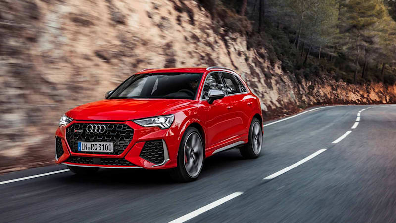 2020 Audi RS Q3 unveiled with 400-horsepower straight-five