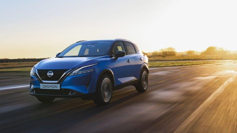 Nissan Qashqai 2021 года представляет Rogue Sport 2022 года