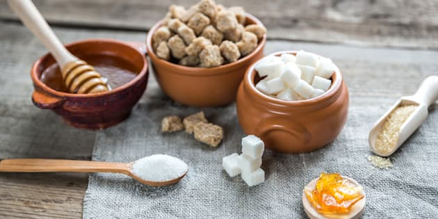 Sugar and honey have an indefinite shelf life, so there's no need to throw them out.
