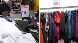 Les vêtements génèrent beaucoup de pollution dès leur