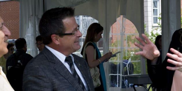Jean-Marc Robitaille, en juillet 2011.