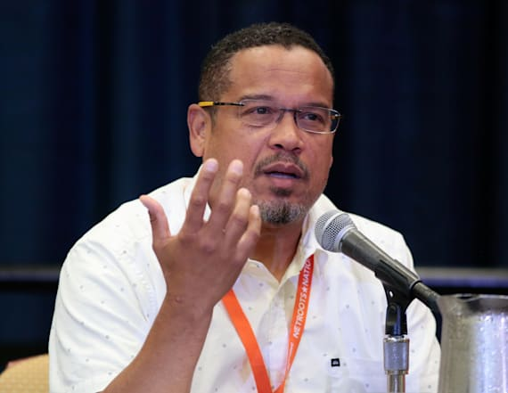 Rep. Keith Ellison denies abuse accusation