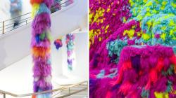 Cette artiste utilise des cheveux pour créer des paysages