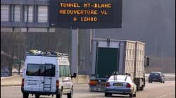 Bloccato al traforo del Monte Bianco un furgone con esplosivo. Esclusa la pista
