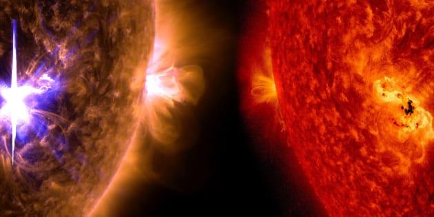 L'éruption solaire la plus forte depuis 9 ans a eu lieu