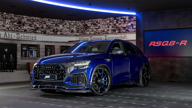 ABT builds an Audi RS Q8 that s nearly as quick as an R8