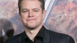 Matt Damon no está de acuerdo con el muro y le envía un mensaje a los