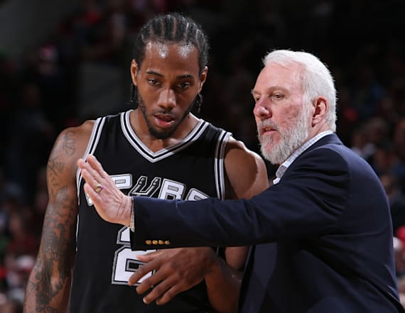 Popovich on Kawhi trade: 'It's time to move on'