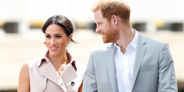 The Duke and Duchess of Sussex visit The Nelson Mandela Centenary Exhibition in London on July 17.