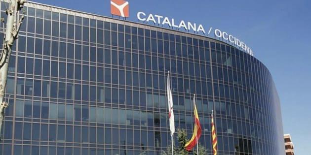 Edificio de Catalana Occidente en Barcelona.