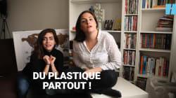 Camille et Justine découvrent qu'il y a du plastique dans notre
