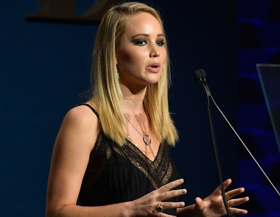 Jennifer Lawrence reveals 'nude lineup' she once did