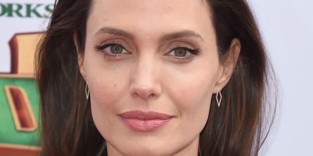 La actriz Angelina Jolie, en una imagen del 16 de enero de 2016 en Los Angeles.