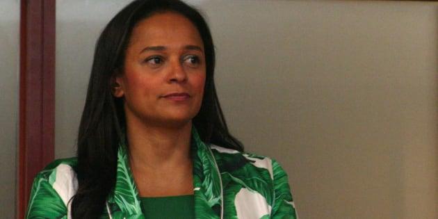 Isabel dos Santos, the daughter of former Angolan president Jose Eduardo dos Santos.