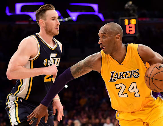Kobe Bryant posts touching message to Gordon Hayward