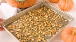 Les graines de courge sont l'ingrédient idéal pour vos recettes sucrées et