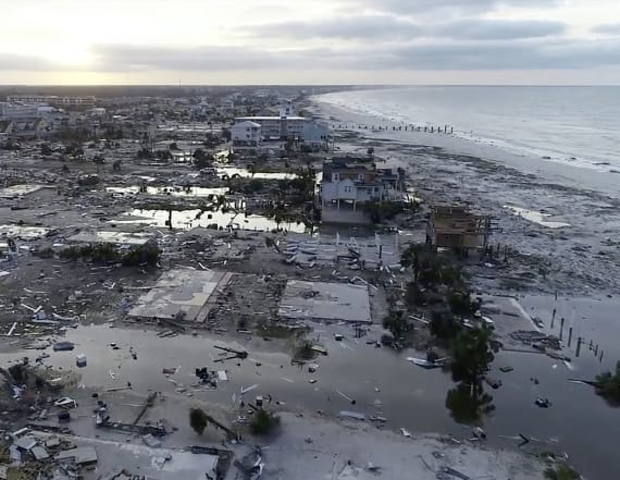 Aerial photos show Hurricane Michael's destruction