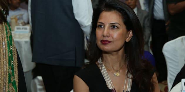 Designer Ritu Beri during AIMA Managing India Awards 2015.
