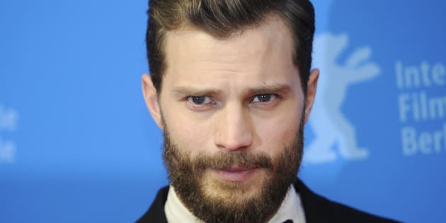 Jamie Dornan à la projection de 'Fifty Shades of Grey' au festival du film de Berlin, le 11 février 2015.