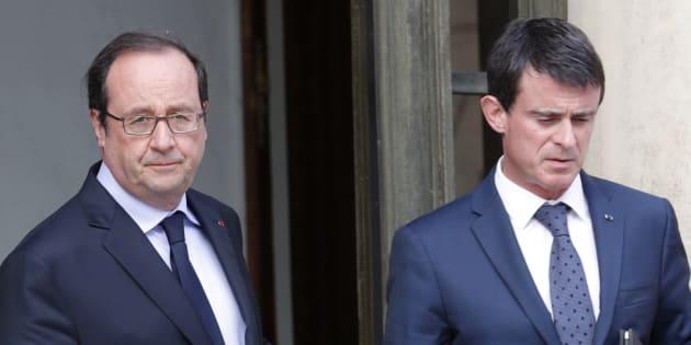 François Hollande et Manuel Valls sont lancés dans un dialogue par médias interposés.
