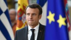 Macron s'exprime sur le report du Brexit en arrivant au sommet