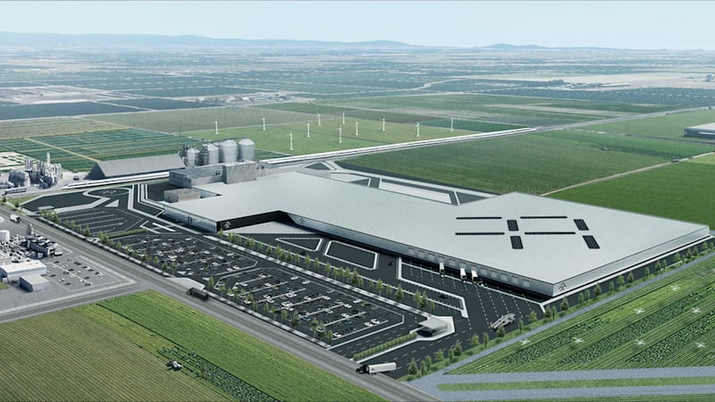 Faraday Future leases million-square-foot factory in