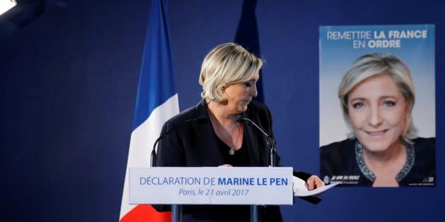 Le programme de Marine Le Pen à l'élection présidentielle 2017