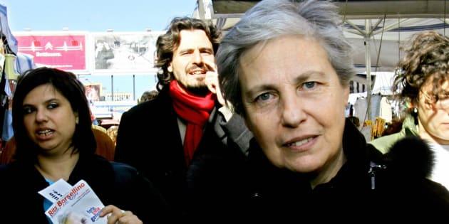 Rita Borsellino è morta. La sorella del magistrato si è spen