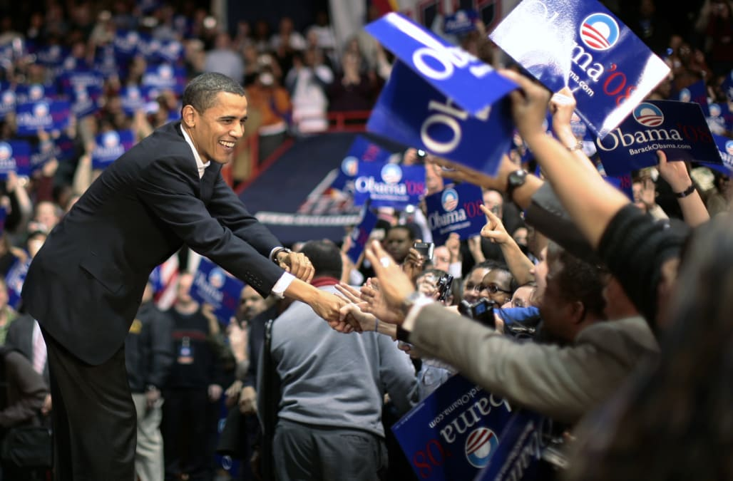 Image result for obama 2008 campaign