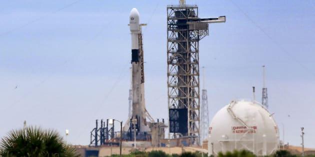 Une fusée Falcon9 de SpaceX.