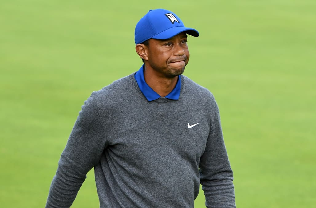 3660c4f35b40f Tiger Woods plods to unspectacular Open finish - AOL News