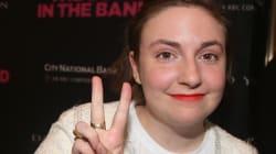 Lena Dunham celebra su aumento de peso con una importante