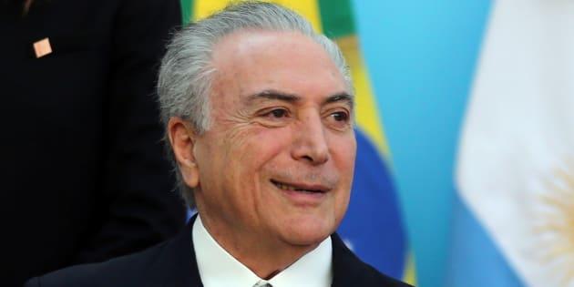 """""""Michel Temer, homem honrado, com pouco mais de um ano de governo, já garantiu seu lugar na história do Brasil como o mais reformista dos governantes brasileiros de todos os tempos."""""""