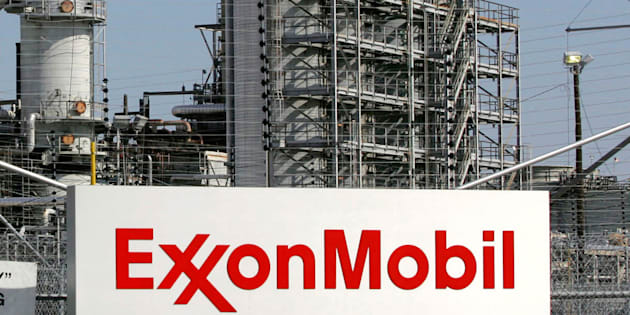 A view of the Exxon Mobil refinery in Baytown, Texas. Sept. 15, 2008.