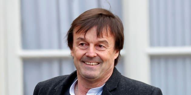 Nicolas Hulot à l'Elysée le 17 janvier 2018.