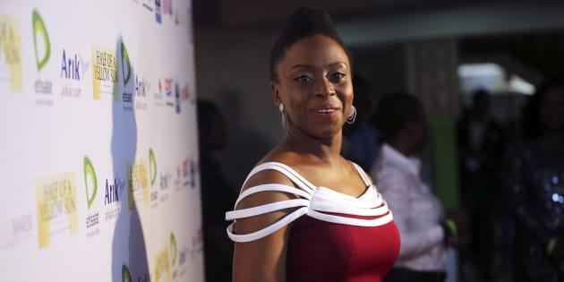 Nigerian novelist Chimamanda Ngozi Adichie.