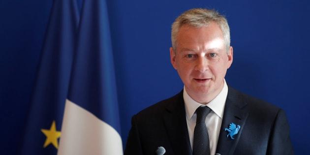 Bruno Le Maire à Paris le 26 février 2018.