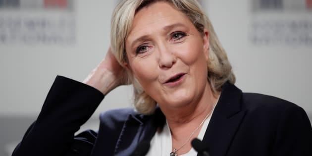 Marine Le Pen a une explication toute simple à son silence des dernières semaines.