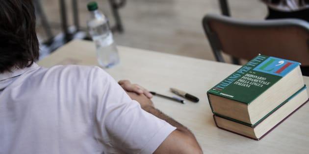20/06/2'018 Roma, liceo Visconti, prima prova scritta degli esami di maturita', Vocabolario lingua italiana