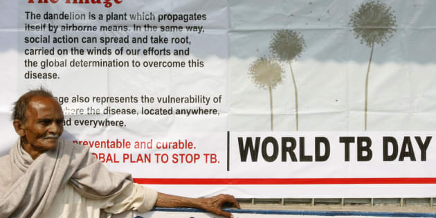 Jotindra Singh, 65, suffering from Tuberculosis (TB) waits for his free treatment outside a medical centre in the eastern Indian city of Siliguri March 24, 2009. Image used for representational purposes only.