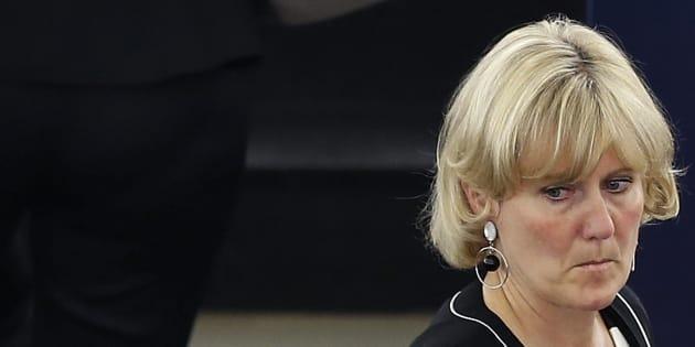 Nadine Morano au Parlement européen en juillet 2014.