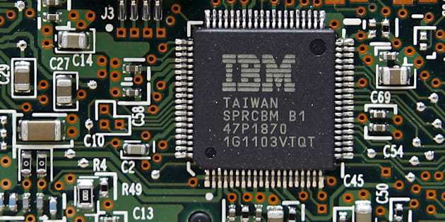 Un processeur informatique IBM (photo d'illustration).