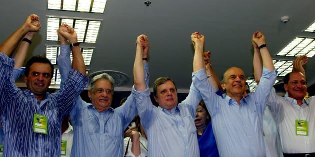 """A animosidade interna do PSDB teve início na """"delação bomba"""" da JBS, em maio deste ano."""