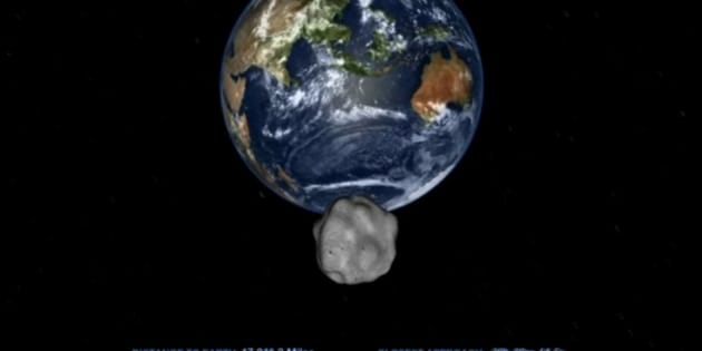 Le plus gros astéroïde depuis plus d'un siècle frôler la Terre ce vendredi 1er septembre.