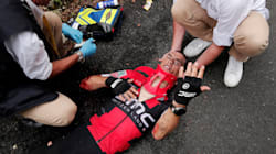 Sickening Crash Ends Richie Porte's Tour De France
