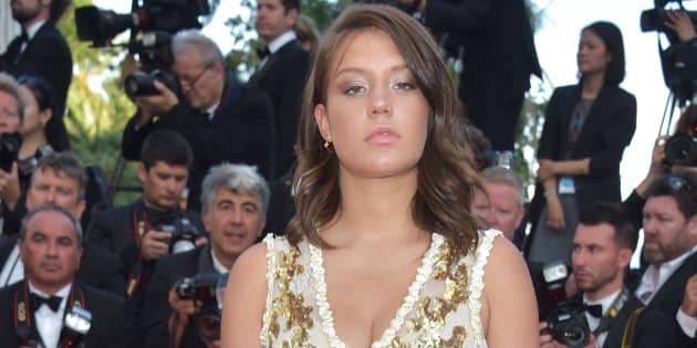 Adele Exarchopoulos au 70ème anniversaire du festival de Cannes.