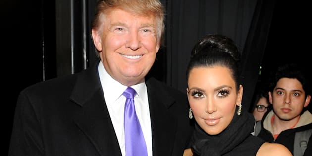NEW YORK - NOVEMBER 10: Television Personality Donald Trump and Kim Kardashian attend the celebration of Perfumania and Kim Kardashian�s appearance on NBC�s 'The Apprentice' at the Provocateur at The Hotel Gansevoort on November 10, 2010 in New York, New York.  (Photo by Mathew Imaging/WireImage)